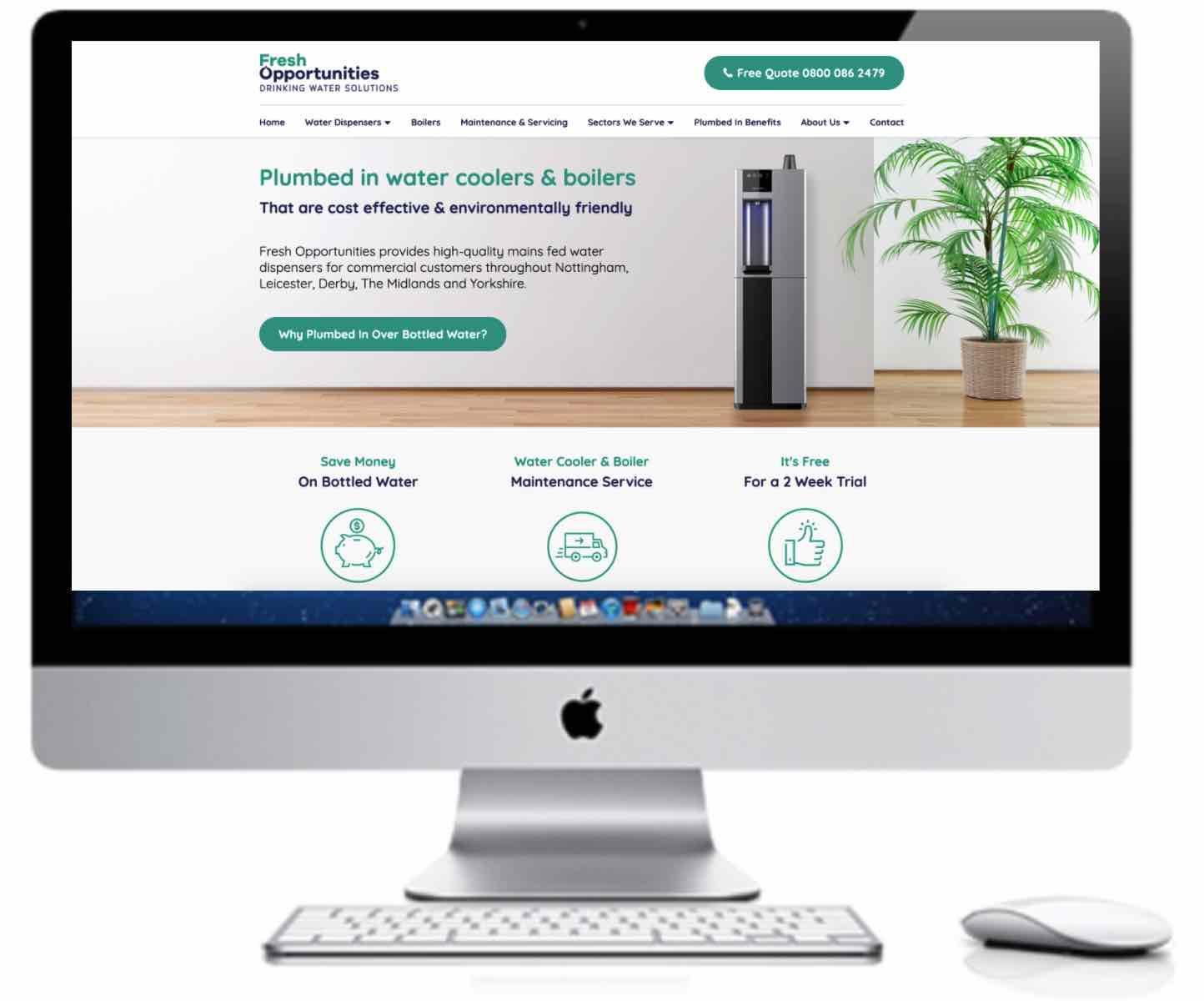 Fresh Opportunities Website