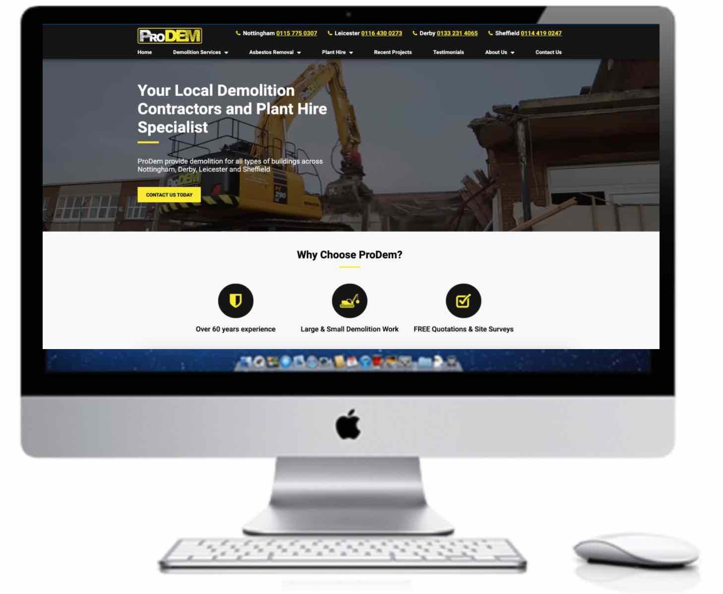 Prodem Website